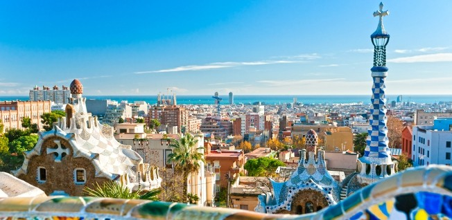 Barcelona is famous for its extraordinary architecture.