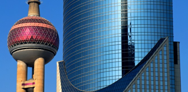 The Oriental Pearl Tower is one of the tallest TV towers in Asia.