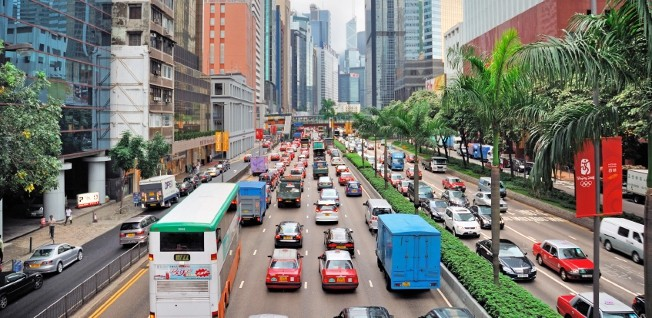 As in any metropolis, driving in Hong Kong sometimes requires quite some patience.