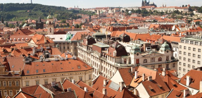 Prague's historical center is a favorite among tourists and younger expats alike.