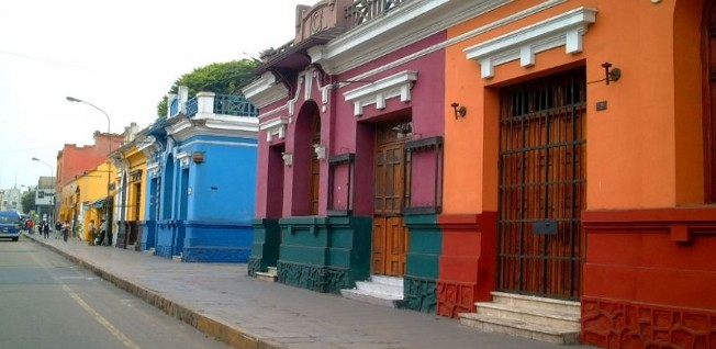 Lima has some charming and colorful neighborhoods to offer.