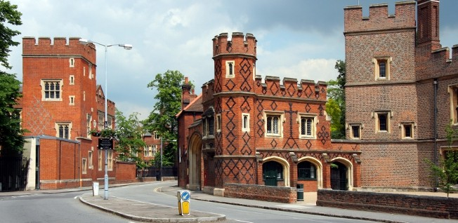 Eton College is probably the most famous independent school in the UK.