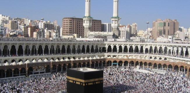 Mecca attracts 13 million Muslims annually, most of them pilgrims performing the Haj.