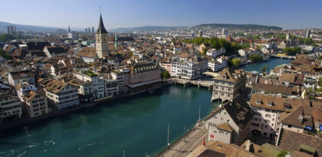 One of the wealthiest European cities, Zurich offers a high quality of life.