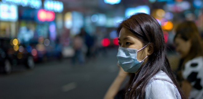 Surgical masks are supposed to protect people from periodic outbreaks of the flu in Hong Kong.