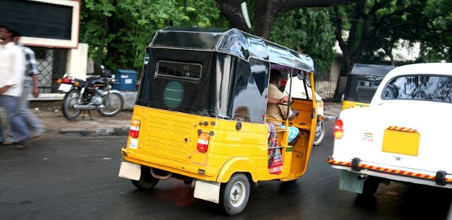 Are you ready to experience a typical Indian tuk-tuk?