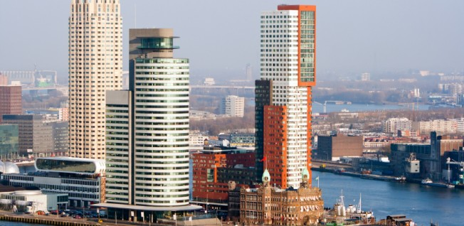 Rotterdam is the leading industrial city in the Netherlands.