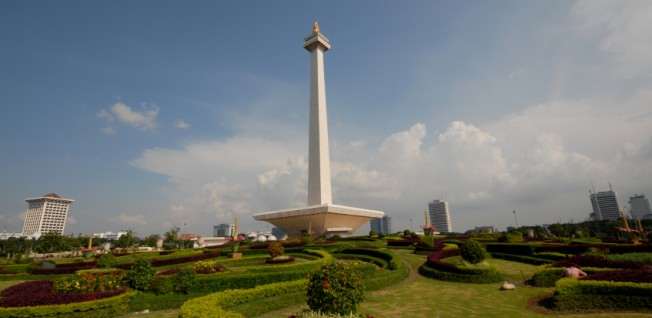 Despite its overpopulation, Jakarta offers its residents many green spaces.