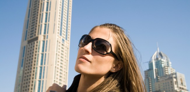 Foreign business women often enjoy a special status in the UAE.