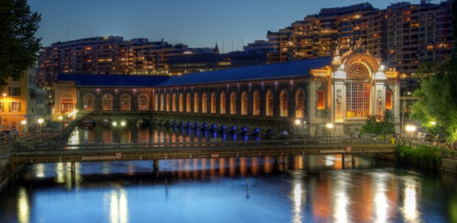 The Batiment des Forces-Motrices in Geneva was used as a power plant until the 1980s.
