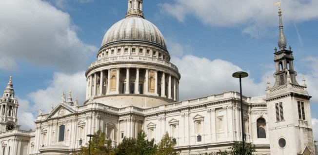 St Paul's Cathedral is one of London's most celebrated buildings.