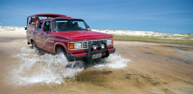 If you plan an adventurous trip to Brazil's beautiful countryside, make sure to select an appropriate vehicle.