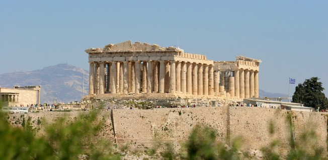 The Parthenon in Athens is just one of the many important historical sites in Greece.