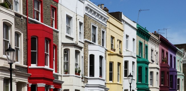 Rental prices are exorbitantly high in London, especially in the city center.