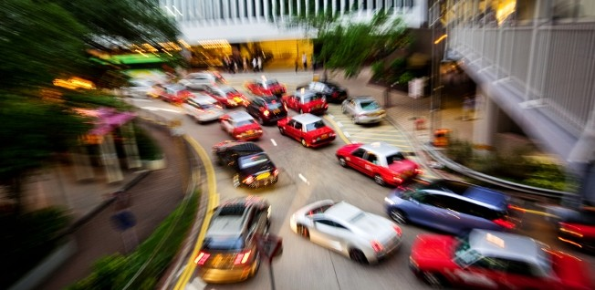 Driving in Hong Kong does not only require a valid licence, but also some patience with traffic jams!