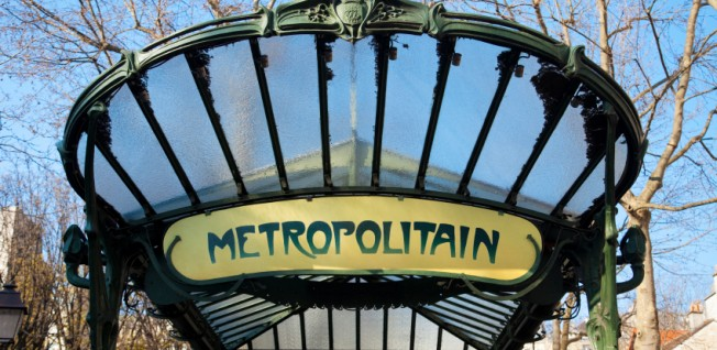 The iconic subway is the easiest way for newcomers to explore Paris.