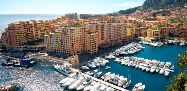 The Fontvieille quarter is nowadays Monaco's main area of industry and commerce.