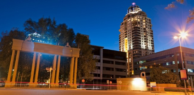 Sandton is one of the prime choices for expats in the Johannesburg area.