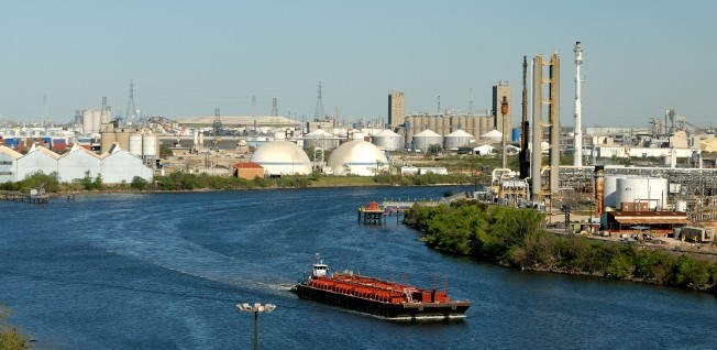 The energy sector and the city's port are important economic driving forces.
