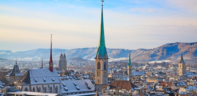 Zurich is a favorite among expats, home to many international companies and a flourishing art scene.
