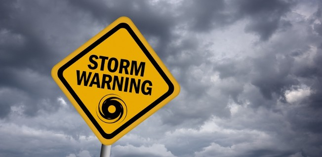 Stay tuned to your local radio or TV station for severe weather warnings.
