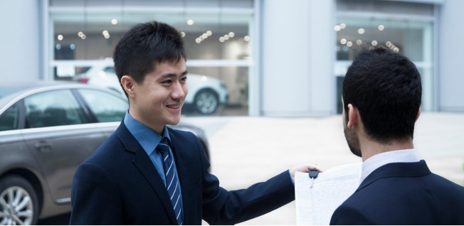 The market for cars in China is steadily growing.