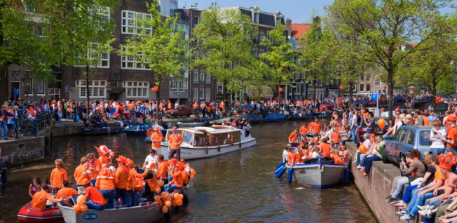 Queen's Day (now King's Day) is a highlight not to be missed as an expat living in Amsterdam.
