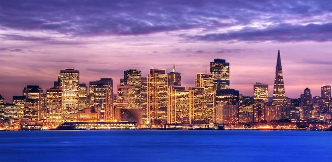 San Francisco is the economic and financial center of the Bay Area.
