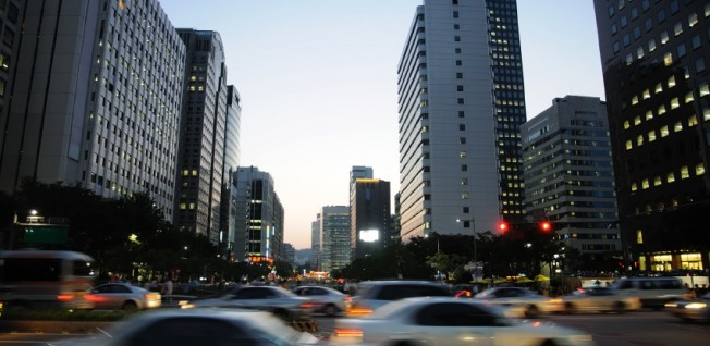 New to Seoul? Better avoid the busy traffic and use public transportation.