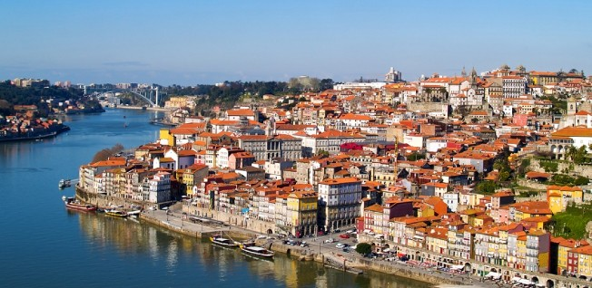 Porto is one of the country's two main cities, besides Lisbon.
