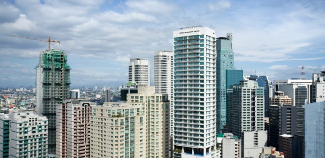 Makati is one of Manila's major business districts.