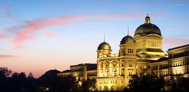 The Swiss Federal Palace was created by the Swiss-Austrian architect Hans Auer.