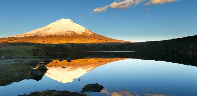 Ecuador's volcanoes are truly a sight to behold.