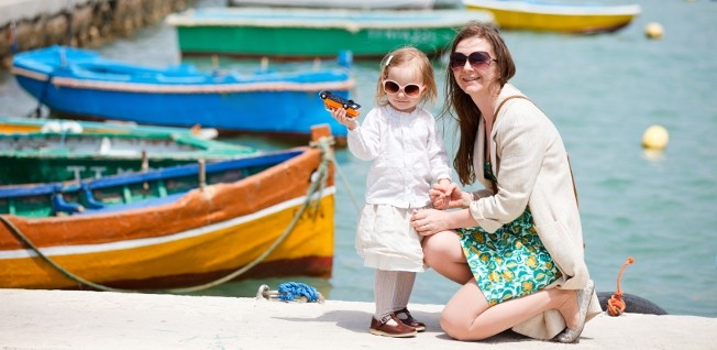 Your kids will surely find their new life on a Mediterranean island very exciting!