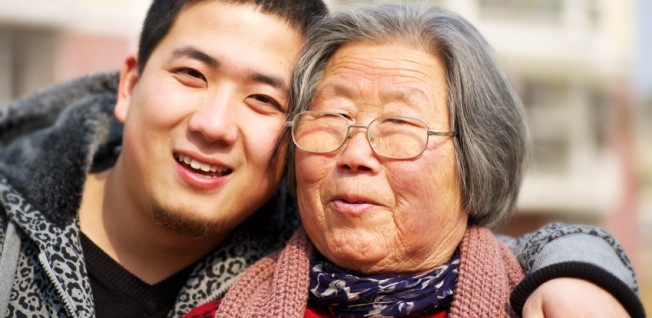 China's social security is not comprehensive. Families are expected to take care of their elders.