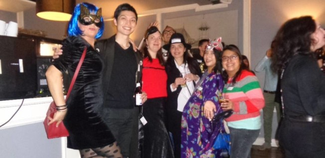 Halloween Party Breda.Witches Hats And Green Attire Internations In March