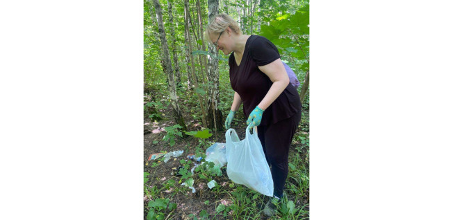 Fighting littering in Moscow's parks