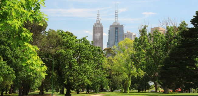 Located in the suburb of South Yarra, the Royal Botanic Gardens are only one of Melbourne's many parks.