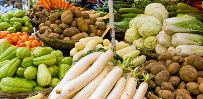 Eating your vegetables is just one way of staying healthy while living in Manila.