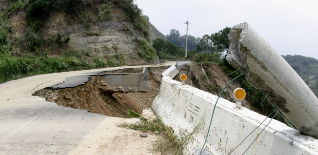 Landslides after heavy rain or an earthquake are a potential danger that especially expats living in the mountainous regions of China need to be aware of.