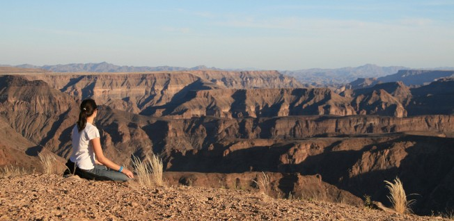 Tourism, to sites such as the Fish River Canyon, is one of Namibia's main economic drivers.