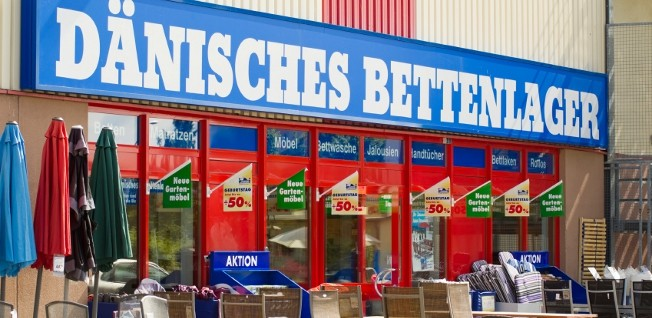 Dänisches Bettenlager is just one of the places in Germany where you can buy your furniture.