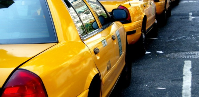 New York's trademark yellow cabs were introduced in the early 1900s.