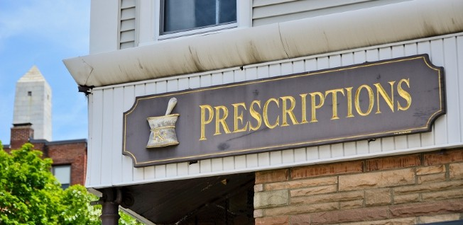 Fortunately, today's pharmacies are modern and have well-trained staff.