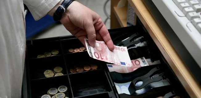 In Germany, smaller purchases are usually paid in cash.