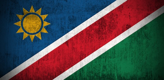 The green, blue, & red colors of Namibia's flag represent the Ovambo people, while the sun stands for energy and life.
