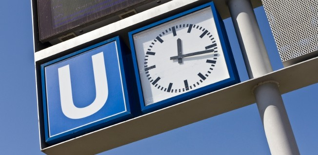Look out for the blue-and-white U sign to find the nearest station of the Munich underground!