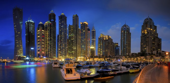 The Dubai Marina district can be pricey, but the view might just make up for it.
