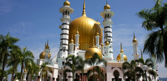 The Ubudiah mosque is often considered the most beautiful mosque in Malaysia.