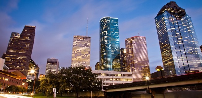 Houston's skyline is among the tallest in the USA.